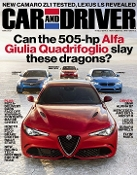 Car and Driver Magazine Subscription for prison inmates