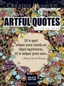 Artful Quotes Coloring Book