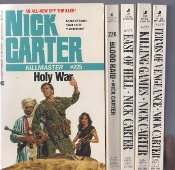 used books for inmates: Nick Carter #225 to 229