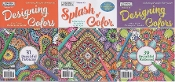 Designing 2 &  1 Splash: Coloring books