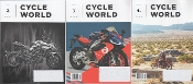 Cycle World magazines