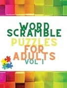 Word Scramble Puzzles for Adults : new book mailed to prison innmate