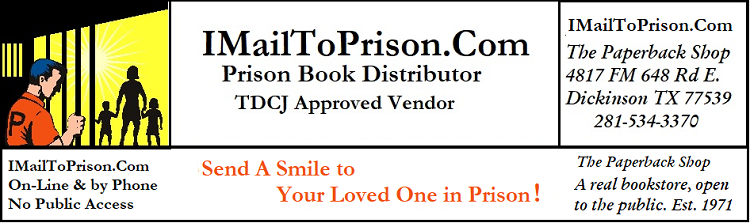 I Mail To Prison .Com TDCJ approved vendor